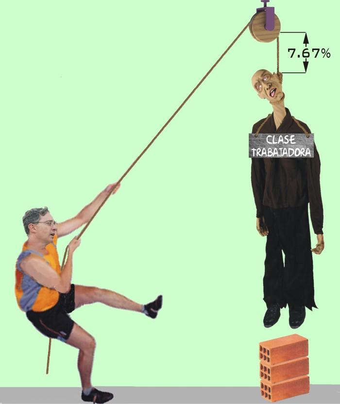 La clase obrera asfixiada