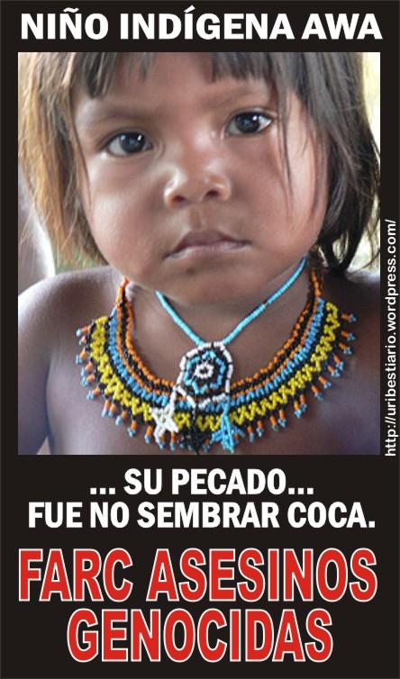 FARC-genocidas