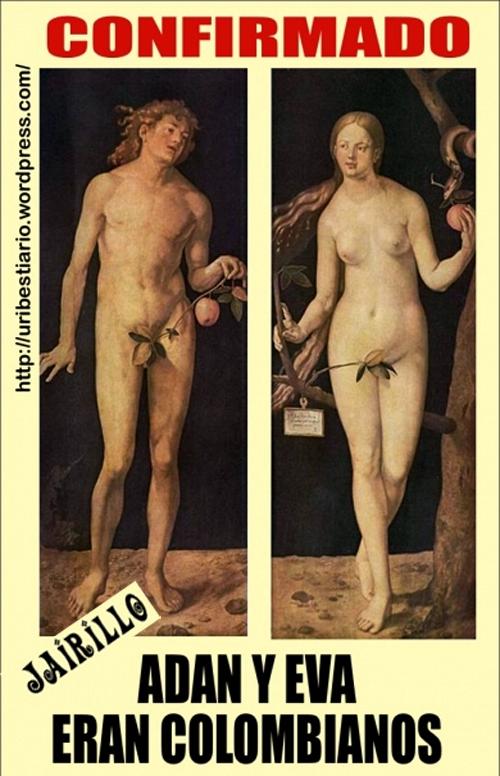 Científicos chibchombianos descubrieron que Adán y Eva eran colombianos