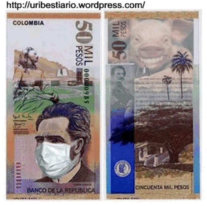 Cuidado con los billetes de 50