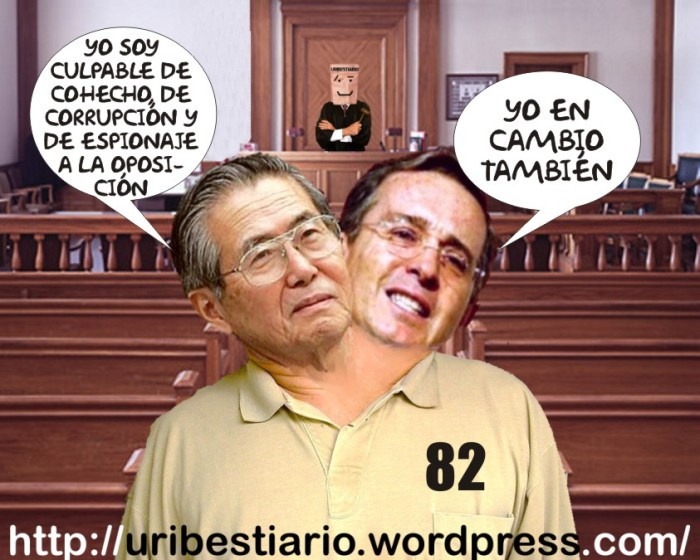 Fujimori se declara culpable de cohecho - corrupción y espionaje a la oposición