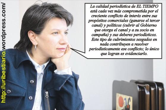 Claudia López - ejemplo de dignidad