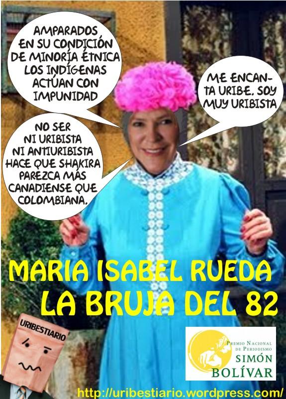 María Isabel Rueda - La Bruja del 82