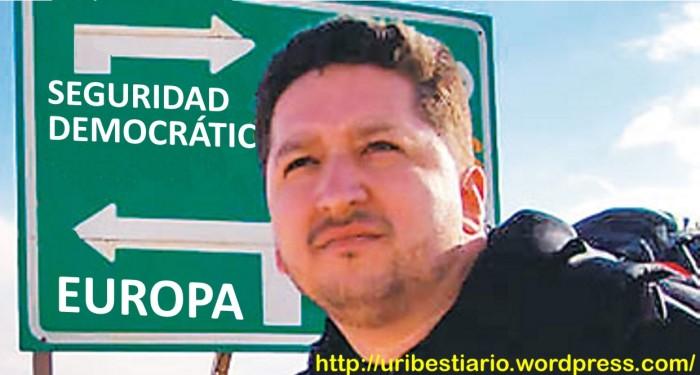 Por amenazas contra su vida sale del país Herbin Hoyos