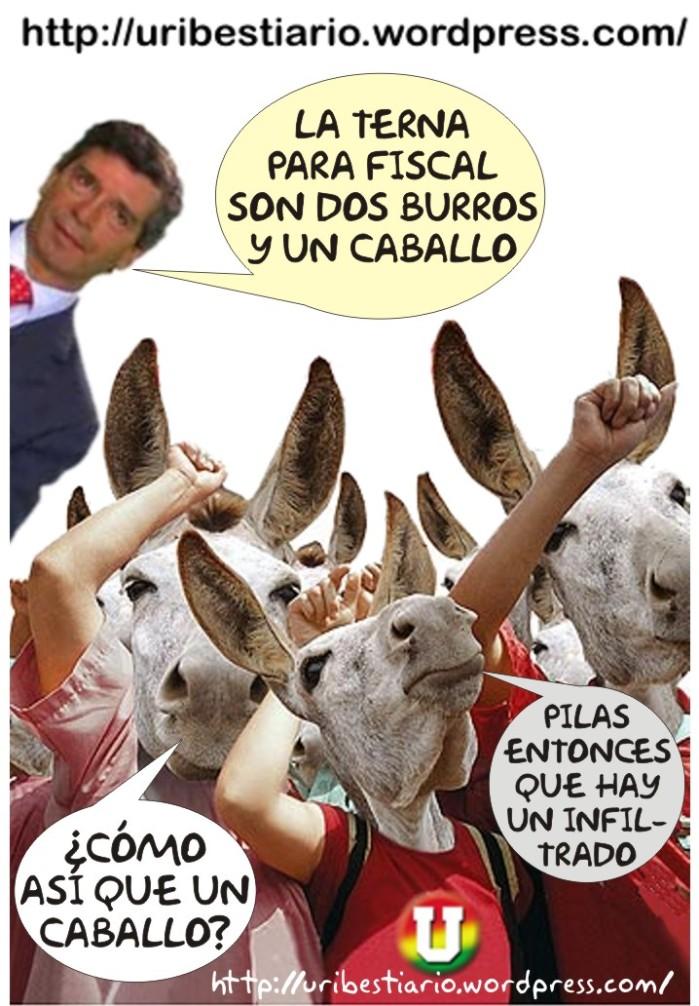 Rafael Pardo afirma que la terna PARA fiscal son dos burros y un caballo