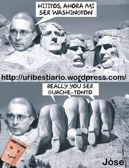Uribe en Rushmore
