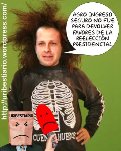 Uribito - Cuenta - huesos