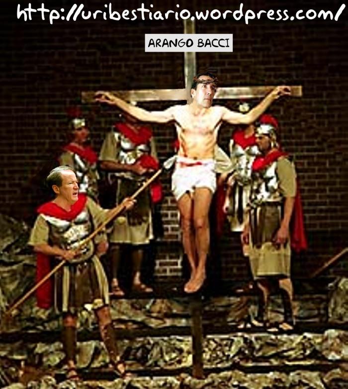 La crucifixión de Arango Bacci