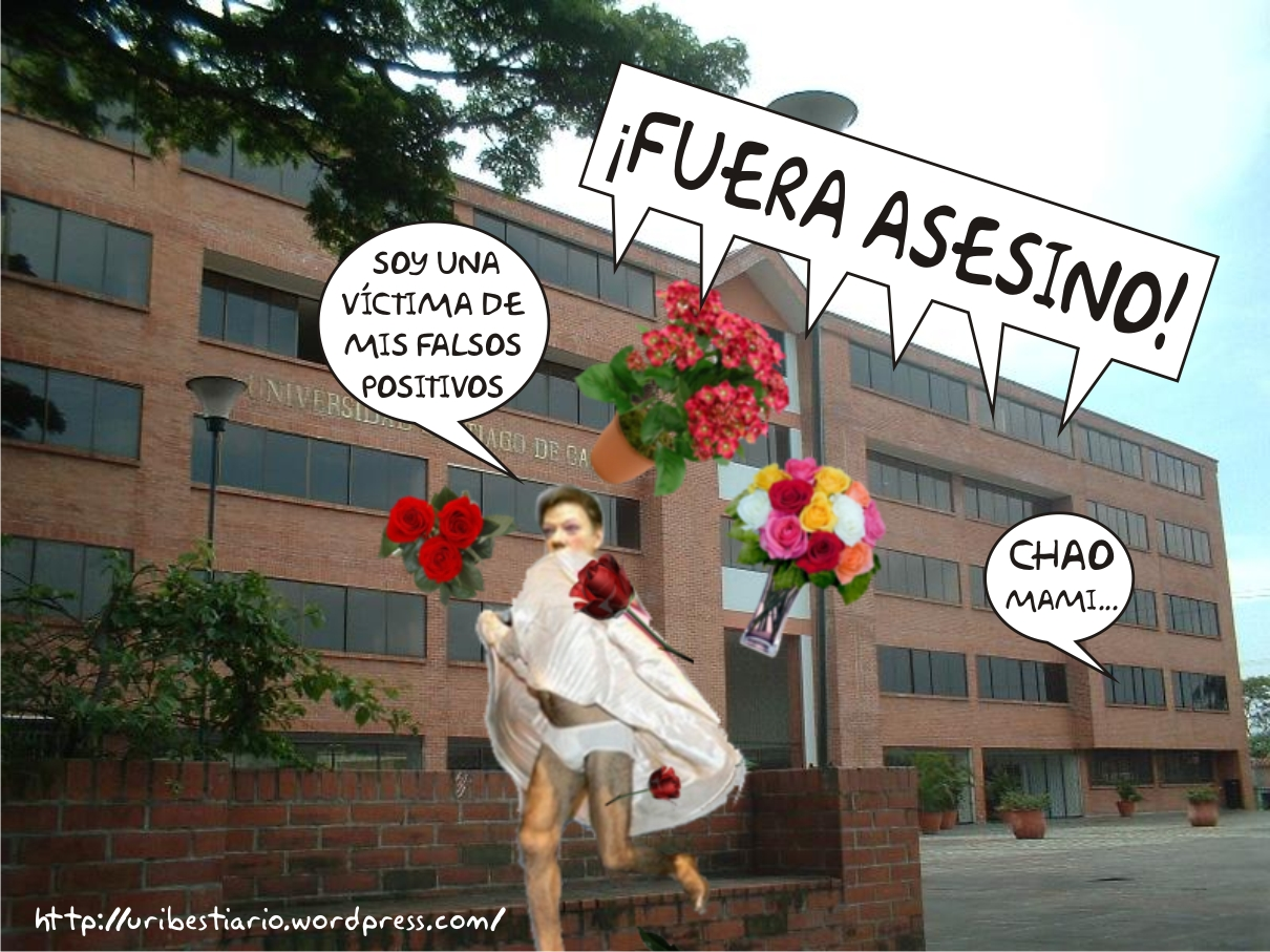 Estudiantes abuchean y echan a Santos de la Universidad Santiago de ...
