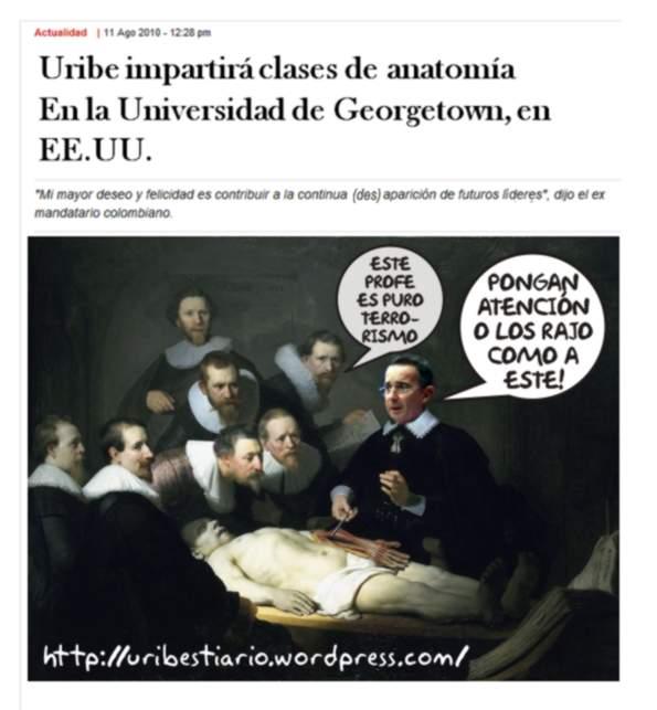 Clase de anatomía [yogui / uribestiario] | Uribestiario