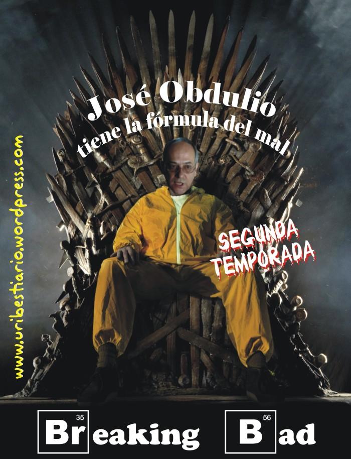 José Obdulio - Segunda temporada