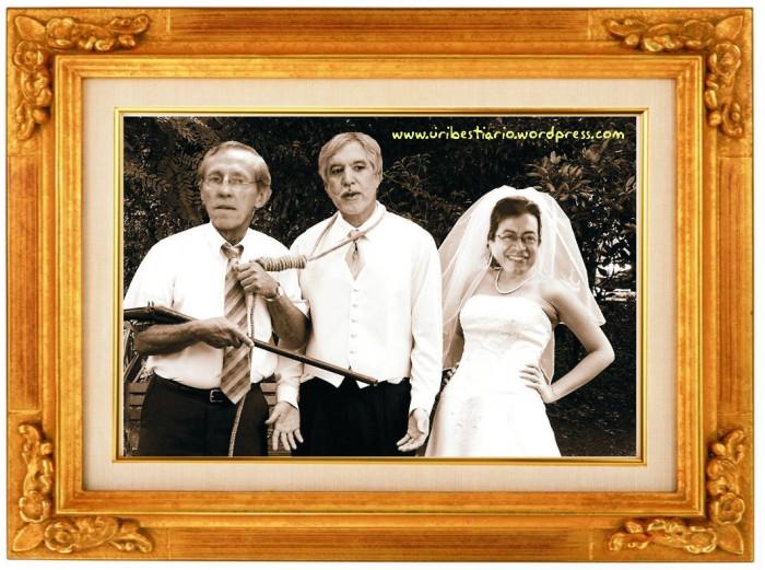 Matrimonio y mortaja, del cielo bajan