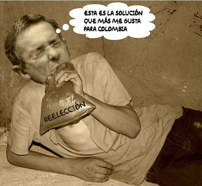 El gamín de Uribe tiene la solucion para Colombia